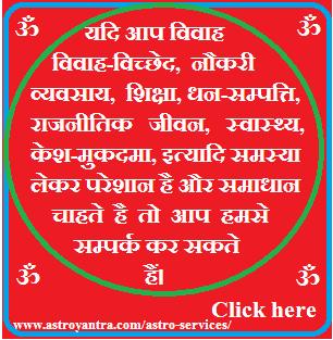 Divorce or Separation in Astrology